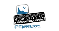 Music City Visa/Law Offices of Sean Lewis, PLLC Logo
